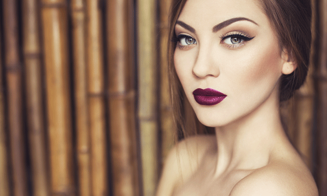 Belleza maquillaje labios for Labios burdeos