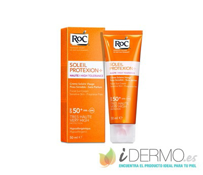SOLEIL PROTEXION+ FLUIDO ANTIMANCHAS SPF50+