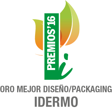 2016 - Diseño y Packaging Idermo - Oro