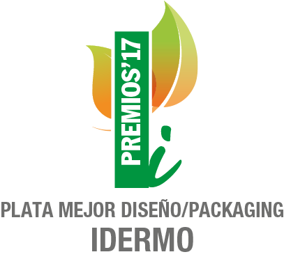 2017 - Diseño y Packaging Idermo - Plata