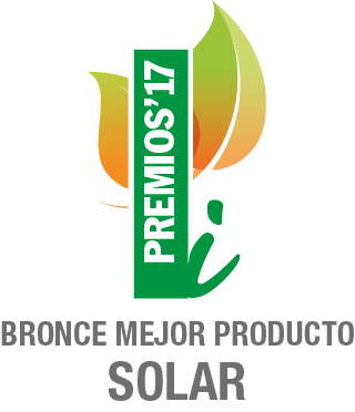 Bronce Mejor Producto Solar 2017