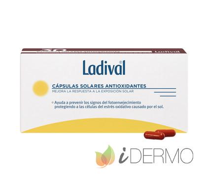 PACK LADIVAL CÁPSULAS SOLARES ANTIOXIDANTES 30 UNID 2X1