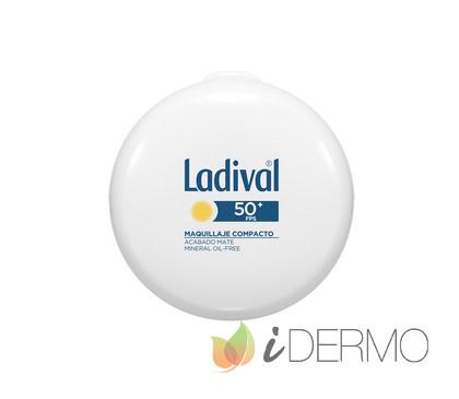 LADIVAL MAQUILLAJE COMPACTO DORADO