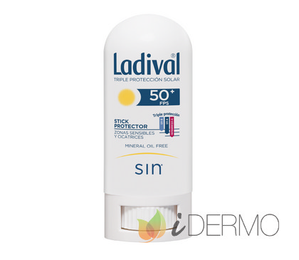 LADIVAL FACIAL STICK PROTECTOR ZONAS SENSIBLES FPS 50+