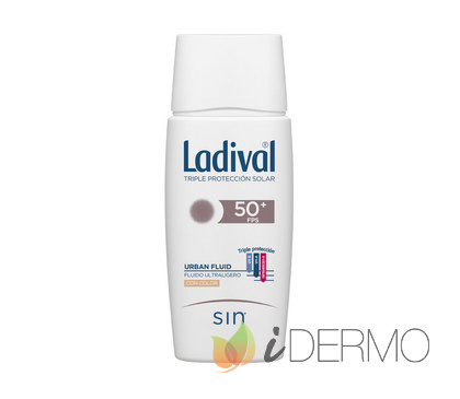 LADIVAL URBAN FLUID FPS50+ COLOR