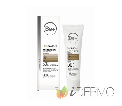 BE+ SKIN PROTECT CREMA ANTIMANCHAS SPF 50+