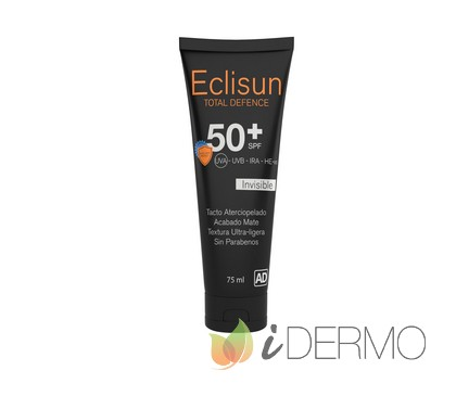 ECLISUN SPF 50+ FACIAL INVISIBLE TOTAL DEFENCE