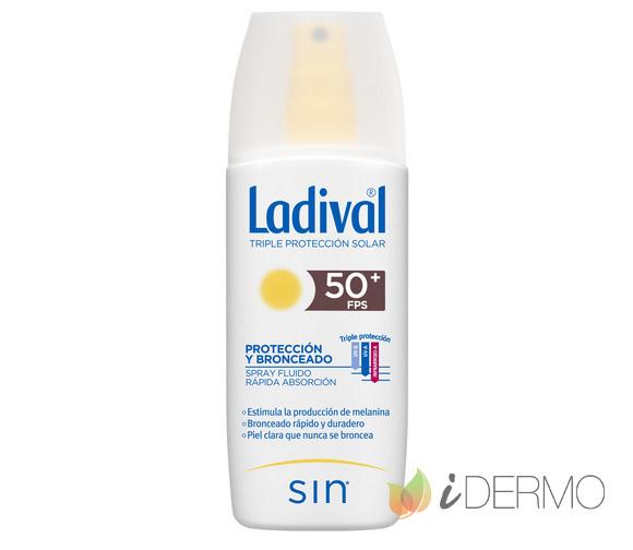 LADIVAL PROTECCIÓN Y BRONCEADO SPRAY FPS50+
