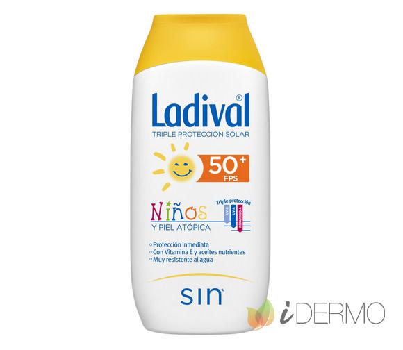 LADIVAL NIÑOS Y PIELES ATÓPICAS FPS50+ 200ML