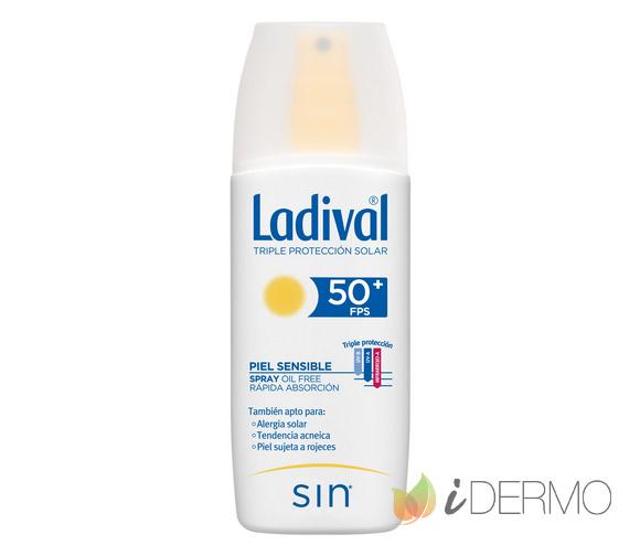 LADIVAL PIELES SENSIBLES O ALÉRGICAS SPRAY FPS50+