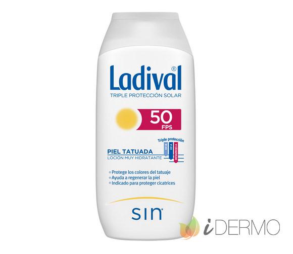 LADIVAL PIELES TATUADAS FPS50