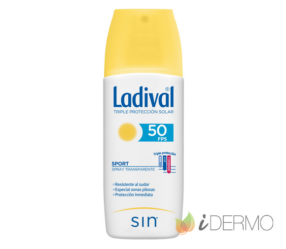 LADIVAL SPORT SPRAY TRANSPARENTE FPS50