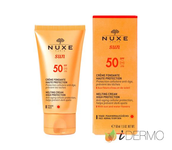 NUXE SUN - CREMA FUNDENTE PARA EL ROSTRO ALTA PROTECCIÓN SPF 50
