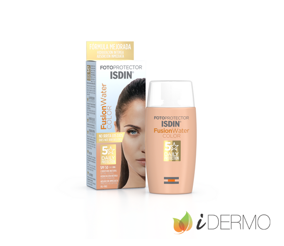 FOTOPROTECTOR ISDIN FUSION WATER COLOR SPF 50