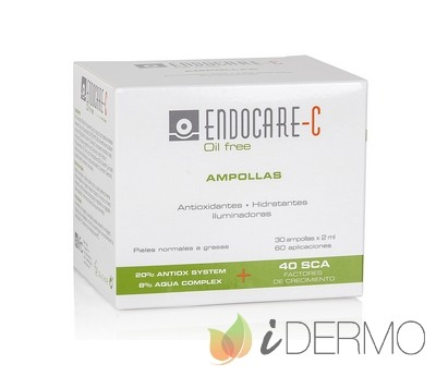 ENDOCARE C AMPOLLAS OIL FREE