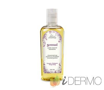 SENSUAL Aceite hidratante elaborado con aceites esenciales puros