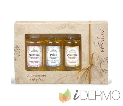 BODY OIL SET - Kit de regalo elaborado con aceites esenciales puros