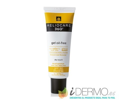 HELIOCARE 360° GEL OIL FREE Dry Touch SPF 50