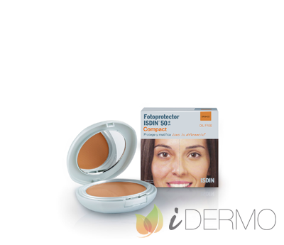 FOTOPROTECTOR ISDIN COMPACT 50+  BRONCE 10G