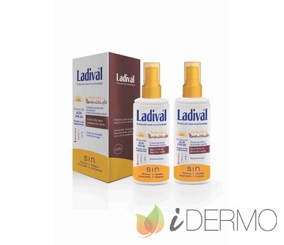 LADIVAL PROTECCIÓN Y BRONCEADO SPRAY FPS50+