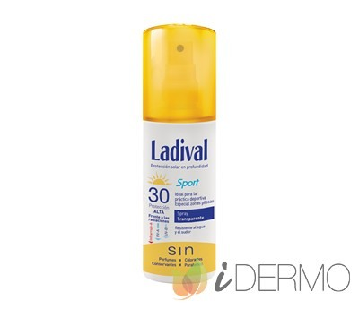 LADIVAL SPORT SPRAY TRANSPARENTE FPS30