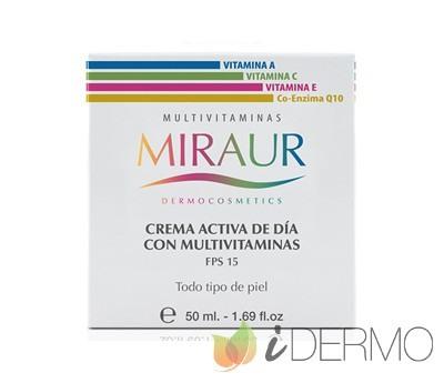 CREMA ACTIVA DE DÍA MULTIVITAMINAS MIRAUR
