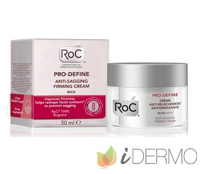 PRO-DEFINE CREMA ANTI-FLACIDEZ REAFIRMANTE Textura Rica