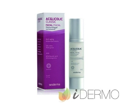 ACGLICOLIC CLASSIC Gel hidratante/ ACGLICOLIC 20 Gel hidratante