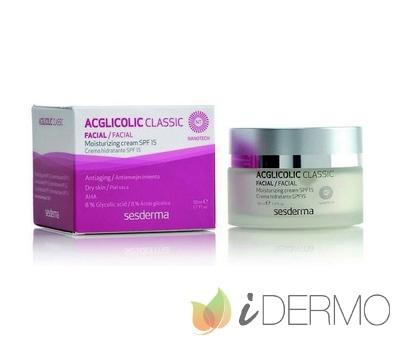 ACGLICOLIC CLASSIC Crema hidratante SPF15/ ACGLICOLIC 20 Crema hidratante SPF 15