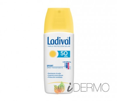 LADIVAL SPORT SPRAY TRANSPARENTE FPS50