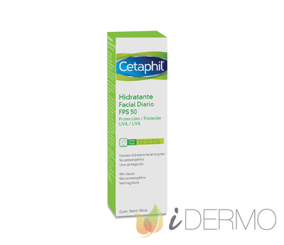 CETAPHIL HUMECTANTE FACIAL DIARIA FPS50 50 ML
