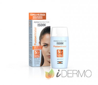 FOTOPROTECTOR ISDIN FUSION WATER SPF 50 L