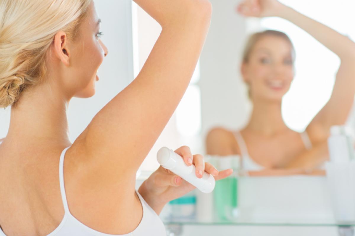 Tipos de desodorante