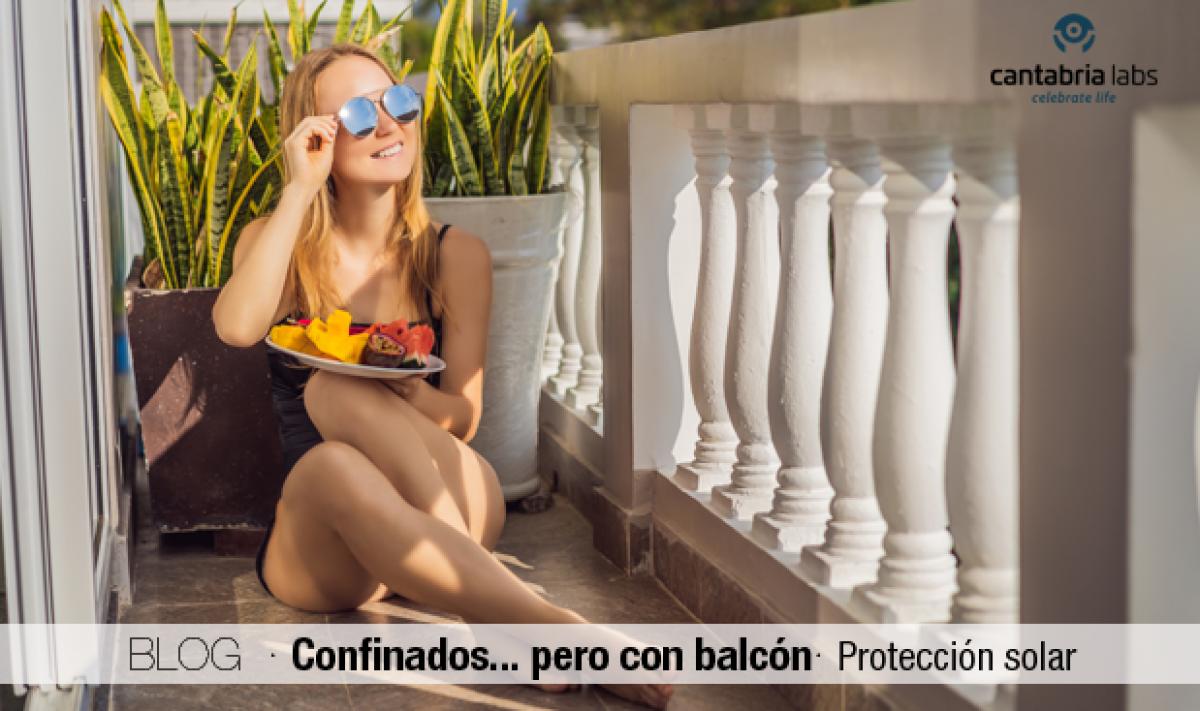 Confinados… pero con balcón