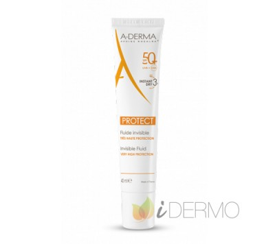 A-DERMA PROTECT FLUIDO INVISIBLE SPF 50+