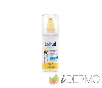 LADIVAL PIELES SENSIBLES O ALÉRGICAS SPRAY FPS50+