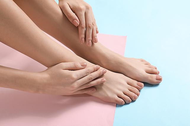 Cuidado de pies y manos
